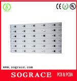 Kundenspezifische Aluminium 1.5m LED Schaltkarte-Baugruppe SMD für LED-Licht