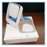Dreidimensionaler Haltewinkel-weißer drahtloser Aufladeeinheits-Sender