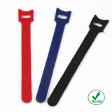 Pesado-dever Nylon Hook e Loop Cable Tie de RoHS