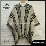 Laides Knit-aztekische Wolljacke-Strickjacke-Oberbekleidung