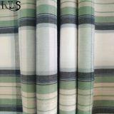 El hilado tejido del popelín de algodón teñió la tela para las camisas/alineada Rls40-1po de la ropa
