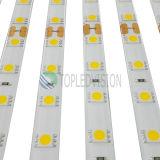 Свет прокладки 60LEDs/M высокого качества SMD5050 гибкий СИД 12V, DC 24V