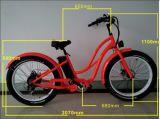 إطار العجلة سمين دراجة كهربائيّة مع محرك كهربائيّة [إ] دراجة