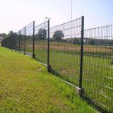 Barrière enduite de treillis métallique de sûreté de poudre de qualité