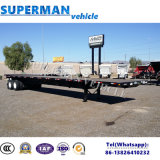 De verlengbare Flatbed Semi Aanhangwagen van de Vrachtwagen