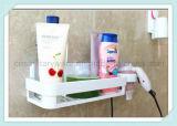 Étagère faisante le coin de mur de douche d'organisateur de crémaillère de mémoire de salle de bains avec la cuvette d'aspiration