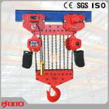 25 het ton Vaste Hijstoestel van de Keten van het Type Elektrische - de Motor van het Toestel met Doos