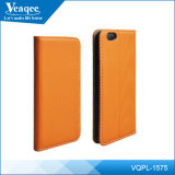 Nieuwe Products OEM Beautiful Pu Leather Cell Phone Case voor iPhone 6