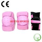 女の子の保護パッド、ピンクの保護ギヤ、子供の保護ギヤ
