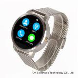 2016 nuevo reloj elegante de V360 IPS para el reloj elegante androide del IOS de Huawei del iPhone de Apple con la función de Siri