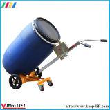 Trole de mão de quatro rodas para bateria de aço De450b