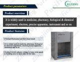Banco limpo do laboratório vertical do banco limpo de fluxo de ar