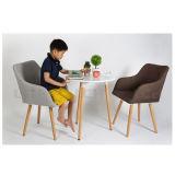 快適なファブリック家具製造販売業が付いている北のヨーロッパ式の余暇の椅子