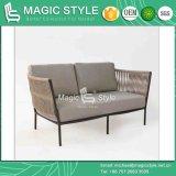 Sofà di tessitura della fasciatura del sofà del sofà del sofà di svago del sofà del giardino del sofà del caffè del nastro stabilito moderno del sofà (stile magico)
