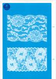 Cordón de la pestaña de la ropa / ropa / zapatos / bolso / la caja J020 (ancho: 4,5 cm-23cm)