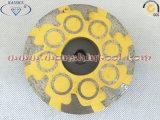 콘크리트를 위한 수지에 의하여 채워지는 다이아몬드 컵 바퀴