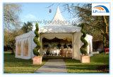 Tente en aluminium d'événement de mariage de partie de tente de pagoda de PVC de grand polygone