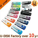 azionamento di vendita caldo dell'istantaneo del USB della parte girevole 1/2/4/8/16/32/64/128GB (YT-1201L)
