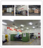 Водоустойчивый волдырь PVC упаковывая прозрачное пленки ровное стеклянное