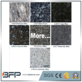 Parti superiori di pietra del granito/marmo/quarzo per la barra/stanza da bagno/cucina con il trattamento facilitato del bordo