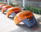 Bâti de fer de fonderie de vide, contrepoids pour le chariot gerbeur d'IC