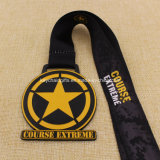 カスタムMetal School Karate Swim Run 10k Marathon Sport Medal