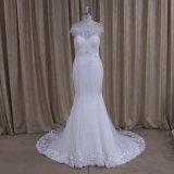 Платье 2016 невесты платьев венчания lhbim Applique