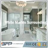 Просто естественная каменная мраморный плитка для окружать ванной комнаты/плитка стены & пола