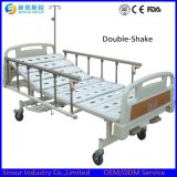 ISO/Ce zugelassene preiswerte manuelle doppelte Funktions-medizinische Betten