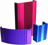 Farben-anodisierendes Aluminiumprofil für elektronischen Fall (TS16949: 2008 bestätigt)