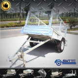Aanhangwagen van de Doos van de hoge Efficiency de Gegalvaniseerde voor 40FT Container