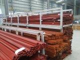 Finestra di scivolamento di alluminio dell'isolamento termico del granulo di legno