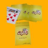 Покер пластмассы покера играя карточек нестандартной конструкции бумажный