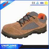 Обувь безопасности крышки пальца ноги тавра стальная, ботинки работы Ufa102 людей