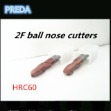 Coated Inch Size 2/4 Flutes Ball Nose CNC Router Bits