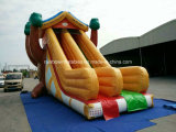 Selling caldo Inflatable Tree Slide per Kids e Adult