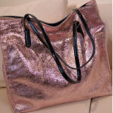 2016 Zakken Emg4692 van de Totalisator van de Kleuren van de Handtassen van het Leer van vrouwen de Echte Glanzende