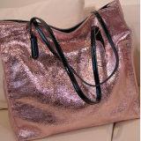 2017 мешков Tote Emg4692 цветов сумок неподдельной кожи женщин глянцеватых
