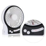 Éclairage LED Portable Desk USB Rechargeable Super Mute Mini Fan