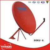 90cm Ku Band Satellite Dish Antenna 텔레비젼 Antenna