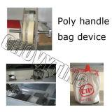 Vier Funktions-Plastikeinkaufen-Träger-Beutel, der Maschine herstellt