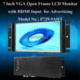 7インチTFT LCDのモニタ