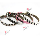 Kids Jewellry (ZC-B06)のための方法8mm Leather Bracelet Jewelry