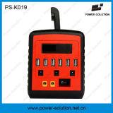 nécessaires solaires de l'éclairage 10W avec le chargeur de téléphone de 6 ports USB