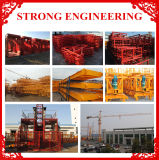 Sc100sc200 Construction Hoist / Elevator / Building Hoist Machinery
