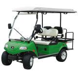 elektrisches Hilfsgolf-Karre der Sitz3kw vier für Verkaufs-Weiß