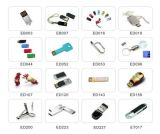Vara da memória da cápsula da movimentação do flash do USB da forma do comprimido com colhedor 8GB (ET027)