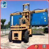 Gebruikte Diesel van KOMATSU Fd280 van de Stapelaar van het Bereik van de Container Vorkheftruck (28ton/lift-capaciteit)