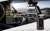 二重USB /Carの充電器(BC06B)が付いているBluetooth車のMP3プレーヤーFMの送信機