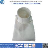Sacchetto filtro della composizione non tessuta in PTFE ed in PPS per l'accumulazione di polvere